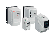 ABB ACS250 family frequency drives motion control