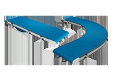 Robotunits blue conveyors motion control