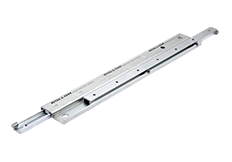 Rollon telescopic rail motion control