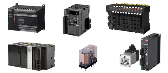 Omron control components