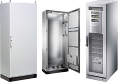 TS 8 enclosures Rittal modular enclosures
