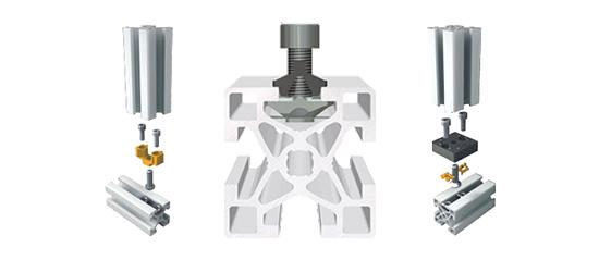 Robotunits design assembly