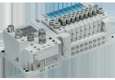 SMC manifold valves