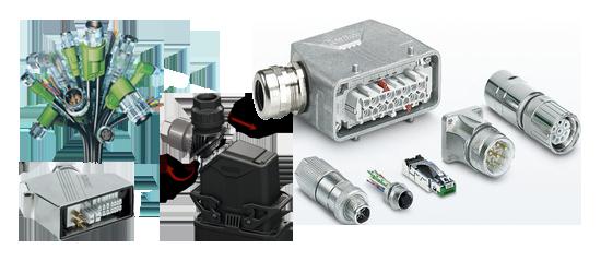 Phoenix Contact cables and connectors