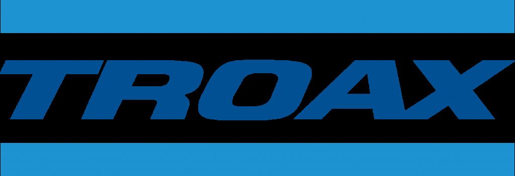 Logo Troax blue big