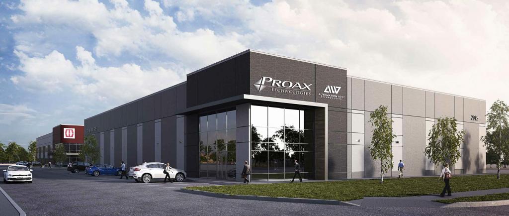 Vancouver Surrey move Proax Technologies Automation West